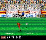 Super Formation Soccer 95: della Serie A SNES Francesco Totti was only 18 when this game was released. Respect. Too bad he will not participate in the 2014 FIFA World Cup.