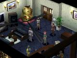 Persona 2: Eternal Punishment PlayStation This is the place where you'll spread rumors in this game. Nice cat!