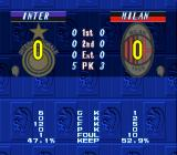 "Super Formation Soccer 95: della Serie A SNES End of a ""random"" derby match (CPU vs CPU). The statistics say it all. It was hella boring."