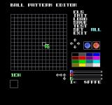 On the Ball Sharp X68000 Ball Pattern Editor