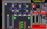 Quadralien Atari ST While the red balls attract each other and row themselves, the blue one detract each other and therefore get space between them when they get moved