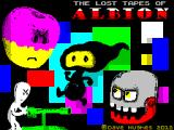 The Lost Tapes of Albion ZX Spectrum Loading screen