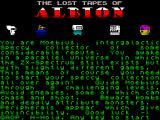 The Lost Tapes of Albion ZX Spectrum Introduction
