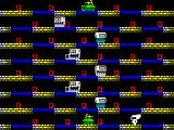 The Lost Tapes of Albion ZX Spectrum Level 3, with new enemies
