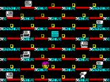 The Lost Tapes of Albion ZX Spectrum Stage 3, note the Speccy in the middle