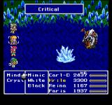 Final Fantasy Anthology PlayStation Final Fantasy V: Organic-looking battle. See the diverse commands combined from various jobs - the possibilities are overwhelming...