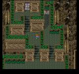 Final Fantasy Anthology PlayStation Final Fantasy V: Ruins dungeon with ancient gates and nice flowers