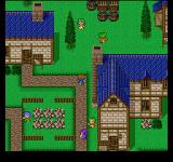 Final Fantasy: Anthology PlayStation Final Fantasy V: A quiet village with people of all ages