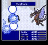 Final Fantasy Anthology PlayStation Final Fantasy V: Mega Flare - Bahamut summon!