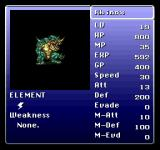 Final Fantasy Anthology PlayStation Final Fantasy VI: Extras menu - bestiary
