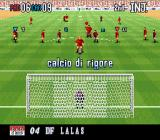 "Super Formation Soccer 95: della Serie A SNES ""69"", pretty crazy. Remember the North American Alexi Lalas? Calcio di rigore. Feel free to learn some Italian, MobyGames visitor."