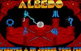 Albedo Atari ST Main menu: many options, high score tables, one and two player game...