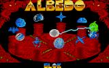 Albedo Atari ST Single player game: the ten levels can be freely chosen (if the first four are finished with a specific score)