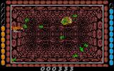 "Albedo Atari ST In the ""Virus"" level lots of small enemies attack"