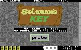 Solomon's Key Commodore 64 Title screen