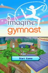 Imagine: Gymnast Nintendo DS Title screen.