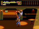 Streets of Rage 2 Windows Special attack in a bar