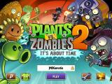 "Plants vs. Zombies 2: It's About Time iPad Title Screen for ""Plants vs. Zombies 2"""