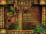 Jungle Legend Windows Game over
