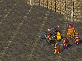 Suikoden PlayStation Undead attack me in a fortress, causing pitiful damage