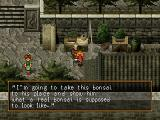 Suikoden II PlayStation Just a regular conversation with an unimportant NPC in a medium-sized town