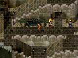 Suikoden II PlayStation Paved streets in a larger town