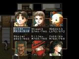 Suikoden II PlayStation You can change your party at the headquarters. Many different faces and races - and not only human, as you can see!