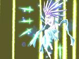 Thousand Arms PlayStation A high-level summon - light deity devastated the enemy!