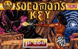 Solomon's Key Atari ST Loading screen