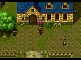 Wild Arms PlayStation The town of Saint Centour, with a parrot acting as a save point