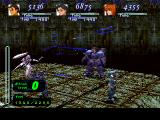 Xenogears PlayStation Fighting a fellow gear - Ellie uses a light special attack