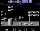 Wizball Commodore 64 Moved up to Level 2.