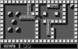 Oxyd 2 Atari ST Level 2: like in Sokoban, you have to push stones (or in this case: rows of stones) out of the way