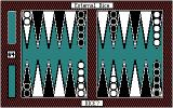 Backgammon 5.0 PC Booter You can play with external dice - roll 'em yourself and input the numbers. (CGA)