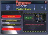 Thunderbirds: Vault of Doom Windows There are four levels of difficulty, the default level is beginner