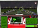 Thunderbirds: Vault of Doom Windows Beginner difficulty setting. Mission three. Here the player must guide Thunderbird Two through the hoops to land on at London Airport