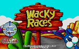 Wacky Races Atari ST Title picture