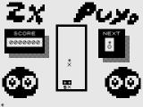 ZX Puyo ZX81 Tiles turn to black when clusters begin to form