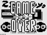 ZX Puyo ZX81 Game over