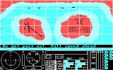 Search and Destroy DOS Demo mode features some spirited narration to get you in the mood (CGA)