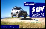 The Wal-Mart SUV Parking Lot Challenge! Windows Title screen