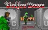 Wolfendoom DOS Title screen