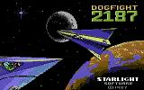 Dogfight 2187 Commodore 64 Loading Screen.