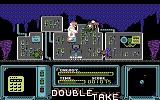 Double Take Commodore 64 Watch out for incoming creatures