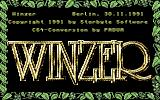 Winzer Commodore 64 Title screen
