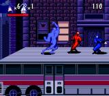 The Tick SNES Ninjas on a bus