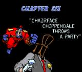 The Tick SNES Chapter six title card