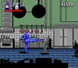 The Tick SNES Fighting gangsters in the kitchen