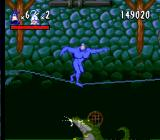 The Tick SNES Balancing on the rope - one of very few moderately entertaining moments