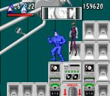 The Tick SNES Trying to shut down Chairface Chippendale's deadly machine in his secret lab on the Moon